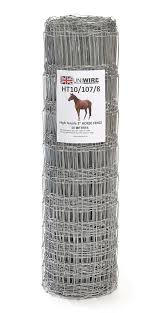Equestrian Tall High Tensile Fencing Uniwire