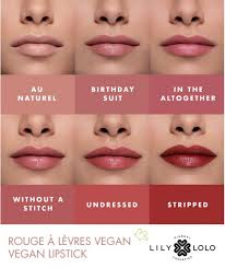 lily lolo vegan lipstick undressed