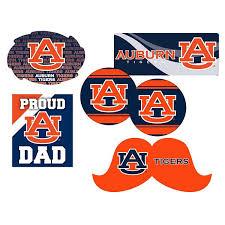 Auburn Tigers Proud Dad 6 Piece Decal Set