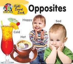KIDS BOARD BOOKS-OPPOSITES – Tricolor Books