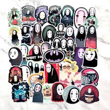 2020 No Face Man Spirited Away Stickers Decal For For Snowboard Laptop Luggage Car Fridge Car Styling Sticker Pegatina From Royal120 1 76 Dhgate Com