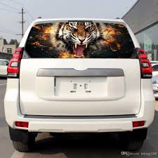 2020 Tiger Glass Rear Window Graphic Decal Sticker Car Truck Suv Van From Letong168 19 09 Dhgate Com