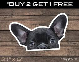 French Bulldog Decal Etsy
