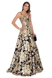 Image result for black and gold brocade gown