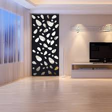 12pcs 3d Mirror Vinyl Removable Wall Sticker Decal Home Decor Art Diy Acrylic Mirror Wall Stickers Wallpaper For Living Room Yy Wall Stickers Aliexpress