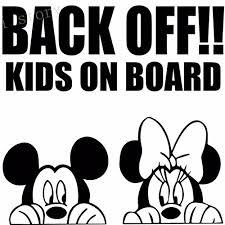 Personalisedjust4u Black Back Off Kids O Buy Online In El Salvador At Desertcart