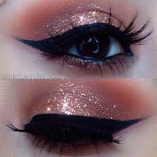 rose gold eyeshadow trends style