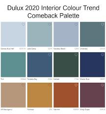 interior color trend 2020 comeback