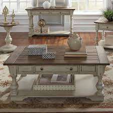 belle meade solid wood coffee table
