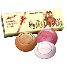mysore sandal soap gift pack 3 in 1 at