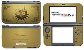 Legend Of Zelda Majora S Mask Special Edition Gold Video Game Vinyl Decal Skin Sticker Cover For The New Nintendo 3ds Xl Ll 2015 System Console Buy Online In Bahamas Vinyl
