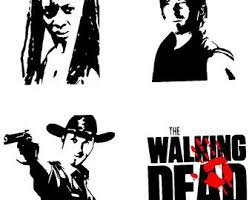 Walking Dead Daryl Dixon Decal The Walking Dead Walking Dead Show Walking Dead Daryl