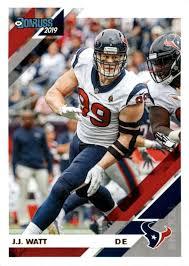 J J Watt 2019 Donruss Football 48 Card Lot Houston Texans 107 Walmart Com Walmart Com