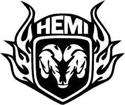 Ram Hemi Charger Hellcat Challenger 1500 2500 Truck Vinyl Decal Fishing Window Sticker Pick Size An Dodge Hemi Truck Decals Dodge Ram Logo