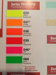 Fluorescent Oracal 6510 12x12 Sheets Outdoor Vinyl Adhesive Etsy