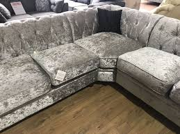 chesterfield glitz silver crushed
