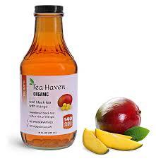 beverage bottles clear glass iced tea