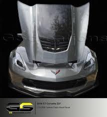 C7 Corvette Hood Decal Carbon Flash Lt4 Z06 Hood Only Gscreations