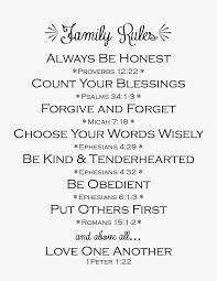 family rules love family rules family quotes quotes