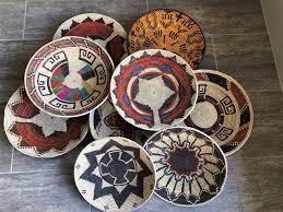 wall basket decor boho wall decor woven