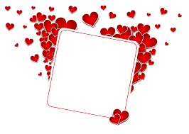 vector love frame png hd png mart