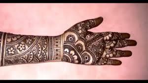 mehndi design beautiful full hand