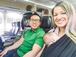 flying with a 4 month old baby