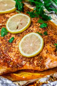 BEST Baked Lemon Garlic Salmon