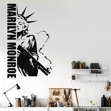 Free Shipping Marilyn Monroe Gun Wall Decal Liberty Of Statue Modern Home Wall Sticker Decal Vinyl Decals Gw 42 Wall Decals Vinyl Decalgun Wall Aliexpress