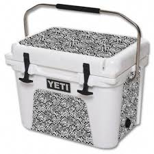 Skin Decal Wrap For Yeti Roadie 20 Qt Cooler Cover Sticker Abstract Black Yeti Roadie Yeti Cooler