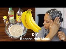 insane hair growth banana hair mask