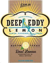 wine spirits deep eddy vodka lemon