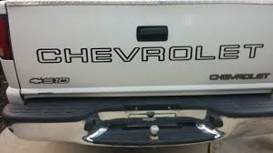 Chevrolet S 10 Chevy S10 Tailgate Decal Sticker Your Choice Etsy