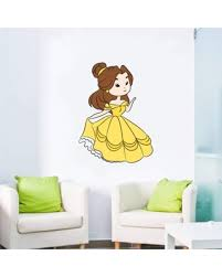 Big Deal On Cute Princess Belle Dance Beauty And The Beast Wall Decal Design With Vinyl Size 40 H X 35 W X 0 5 D