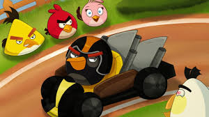 ANGRY BIRDS GO: Rocky Road - Track 1 - FRUIT SPLAT - YouTube
