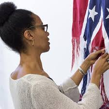 Sonya Clark Unravels the Confederate Flag—artnet News