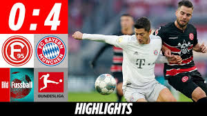 Fortuna Dusseldorf vs Bayern Munich Highlights
