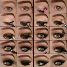 how to do smokey eye makeup step by