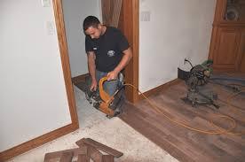 affect installation of hardwood floors