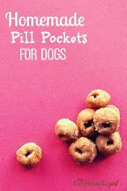 homemade dog pill pockets natural
