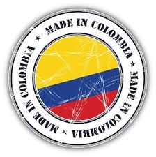 Made In Colombia Grunge Flag Stamp Car Bumper Sticker Decal In 2020 Car Bumper Stickers Bumper Stickers Car Bumper