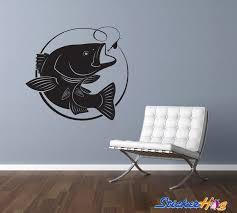 Large Mouth Bass Vinyl Wall Decal