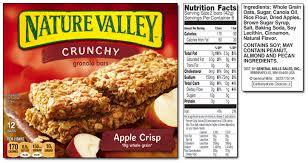 apple crisp crunchy granola bars