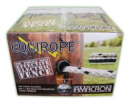 Equirope 6mm X 200m White Equirope 200m Irrigation Supplies Electric Fence Irrigation
