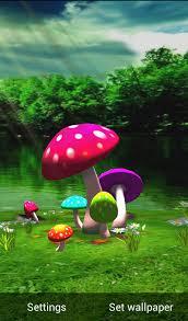 3d mushroom wallpaper on wallpapersafari