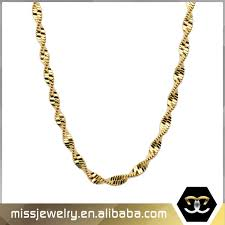 gold necklace chains jewelry