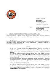 Interrogazione Utilizzo PEC by Alcamo Bene Comune - issuu
