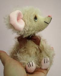 figaro mouse soft toy sewing pattern