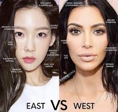 poll western makeup vs korean makeup