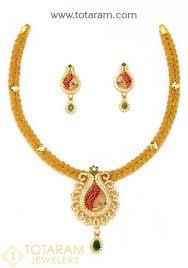 22k gold necklace sets indian gold